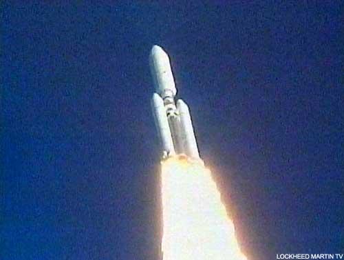 Start rakiety Titan 4B