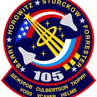 Logo misji STS-105