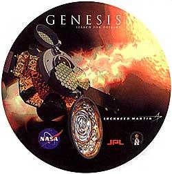 Logo misji Genesis