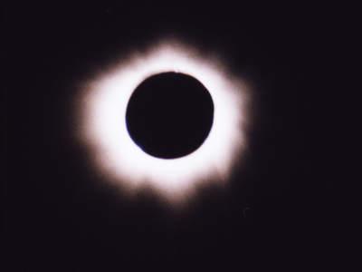 Korona słoneczna wcałej okazałości