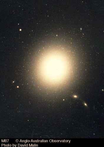 Galaktyka eliptyczna M87