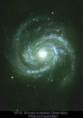 M100 - galaktyka spiralna