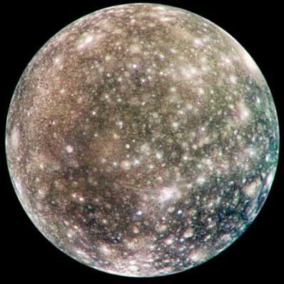 Callisto w oczach Galileo
