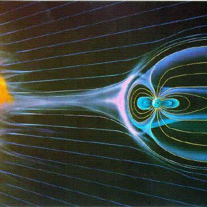 Wiatr słoneczny i ziemska magnetosfera