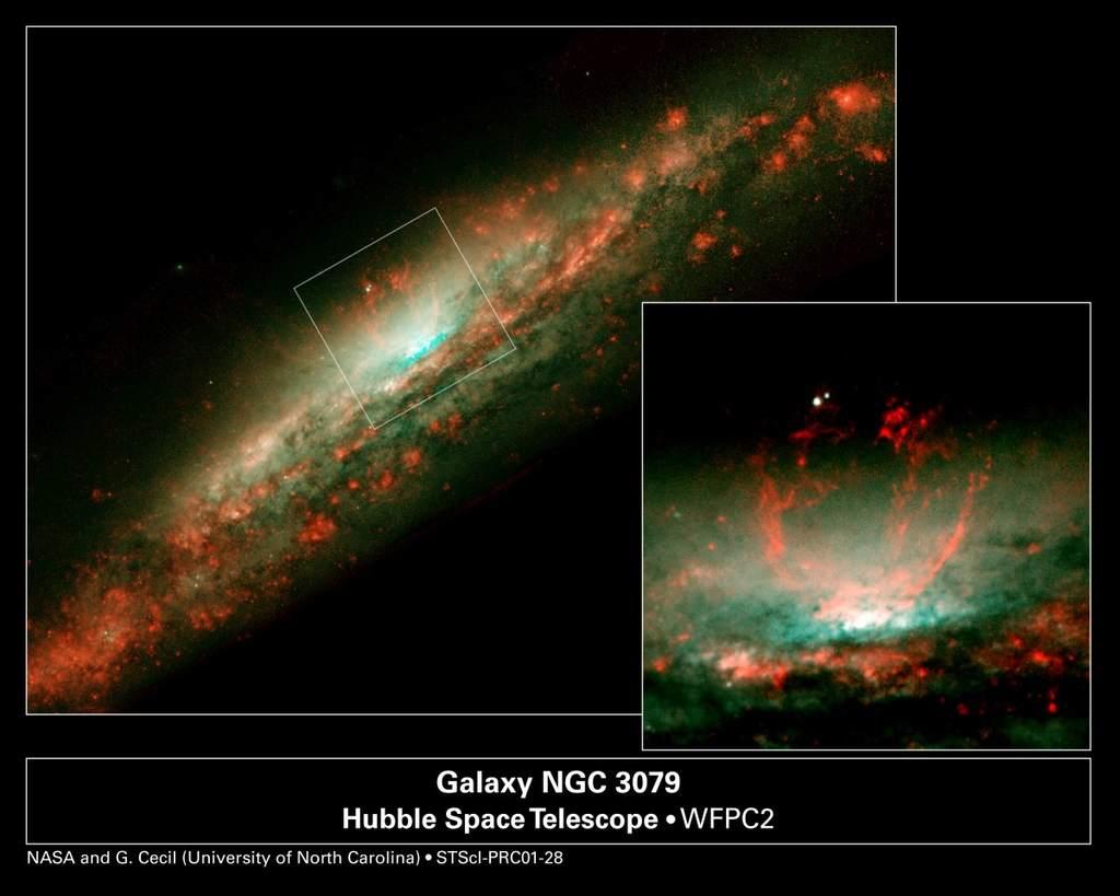Galaktyka NGC 3079