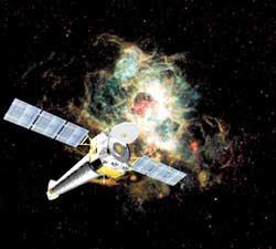 """Obserwatorium promieniowania rentgenowskiego """"Chandra"""""""