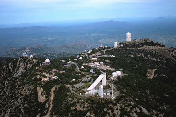 Kitt Peak National Observatory.