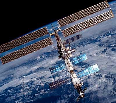 ISS nad Ziemią