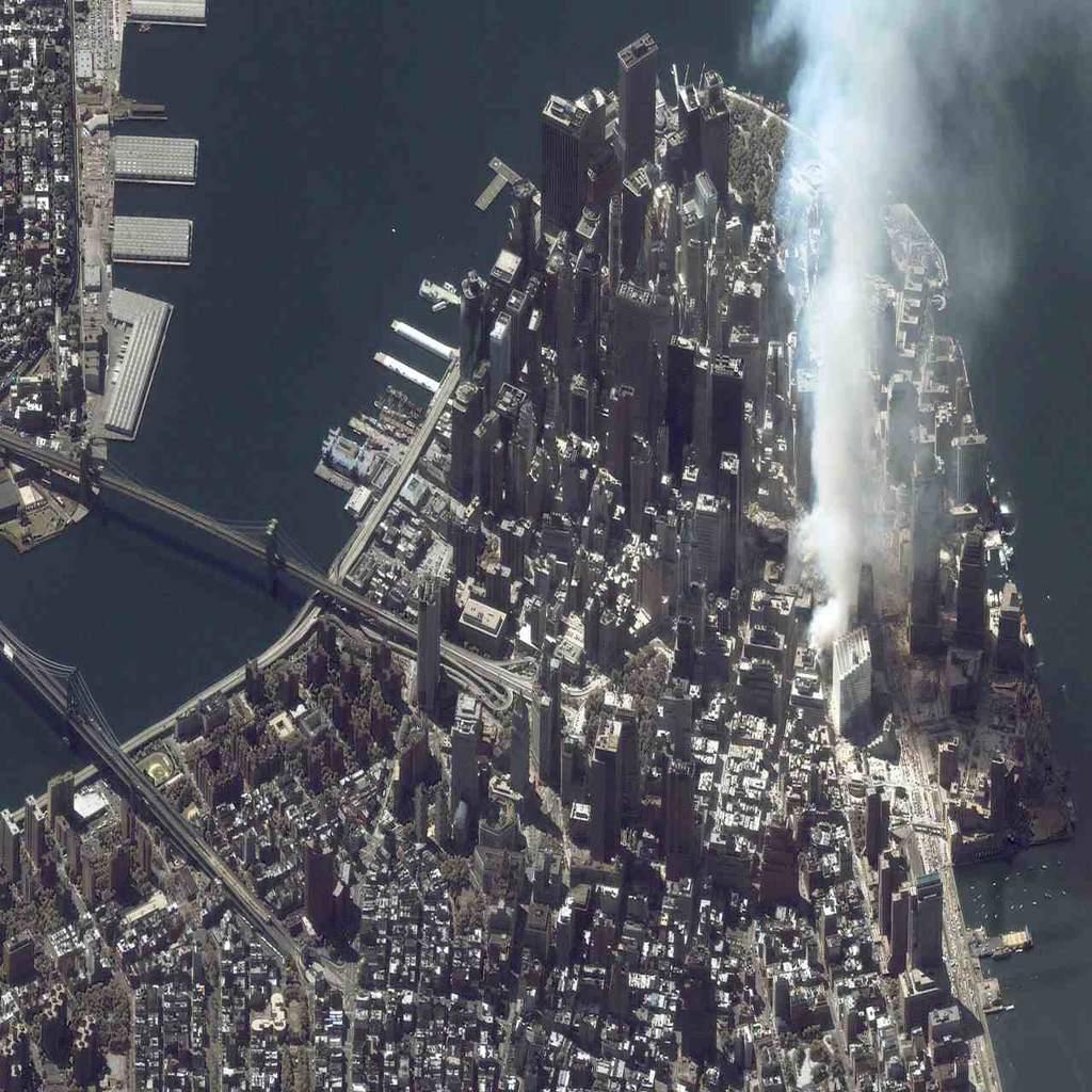 Manhattan po ataku terrorystycznym
