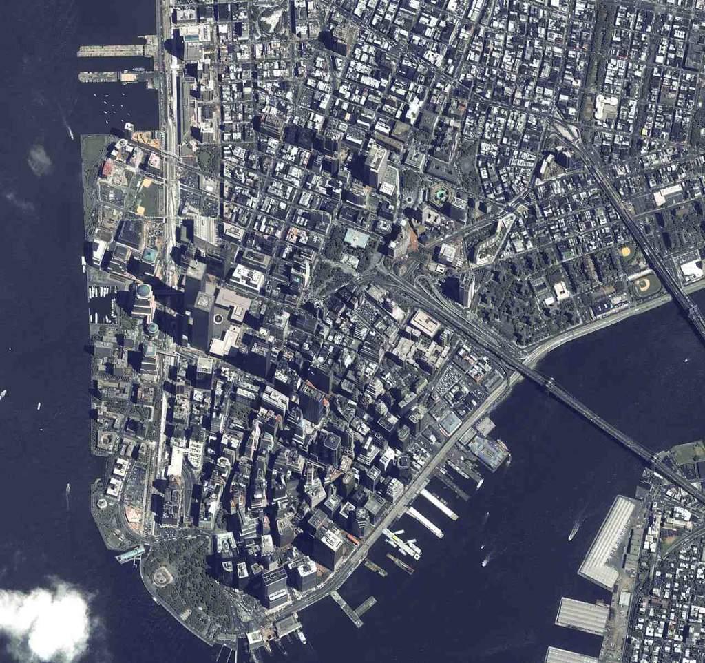 Manhattan przed zniszczeniem WTC