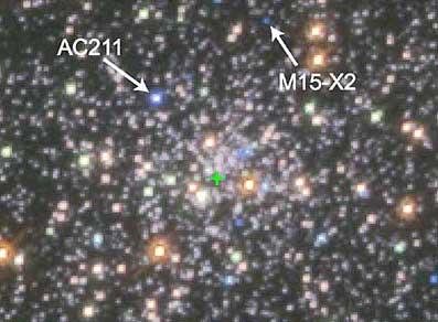 Centralny region gromady M15