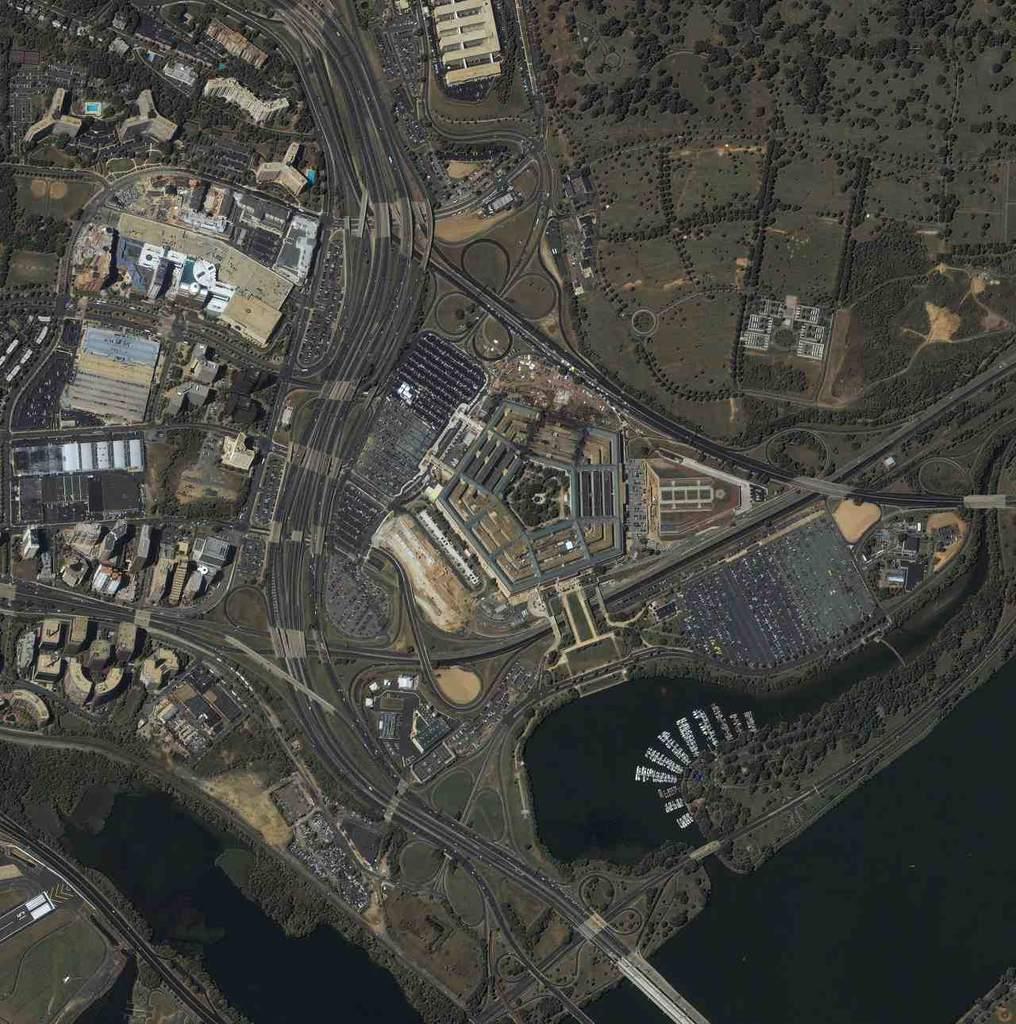 Pentagon po ataku terrorystycznym