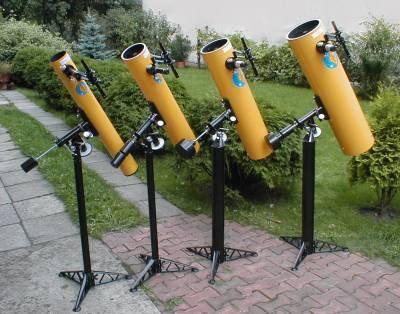 Nowe teleskopy Uniwersał