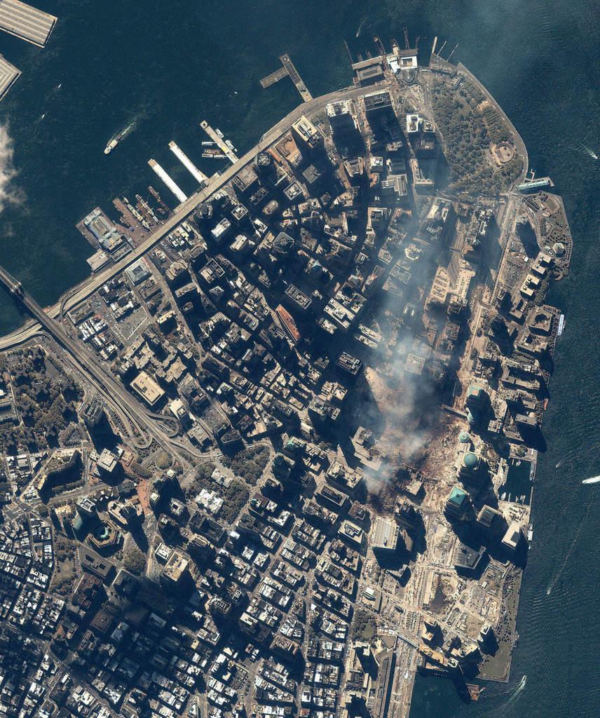 Pozostałość po wieżach WTC