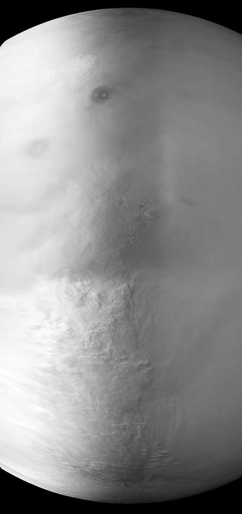 Burza na Marsie