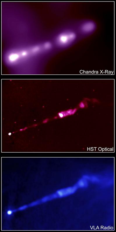 Wyrzut w M87