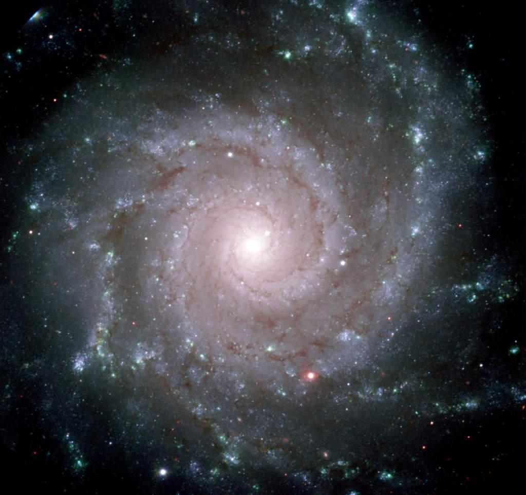 M74 - perfekcyjna galaktyka spiralna