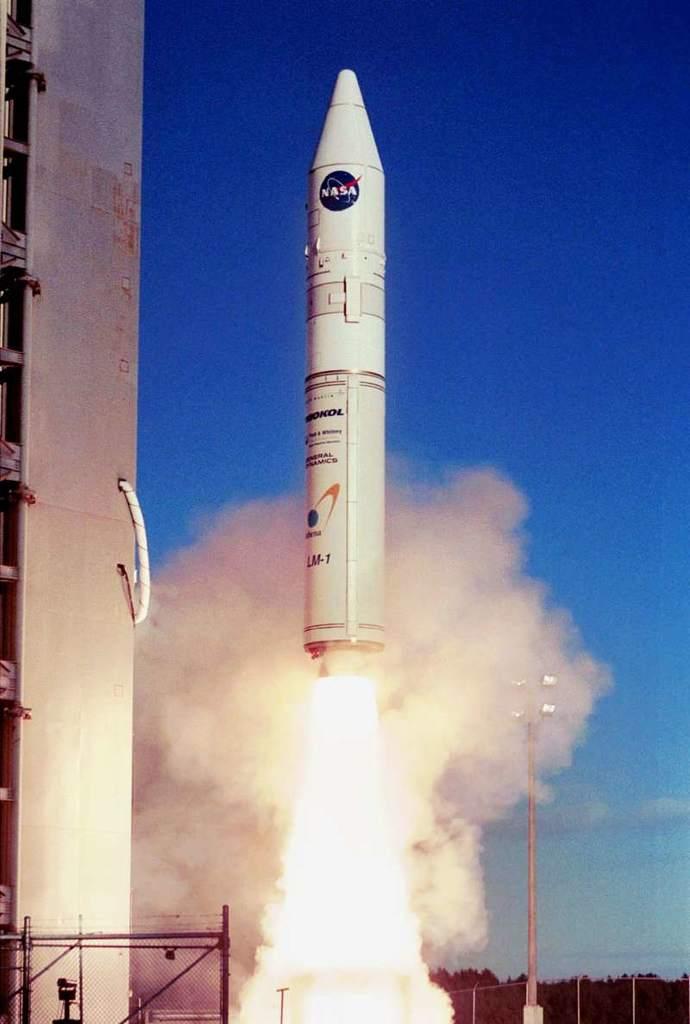 Start rakiety Athena