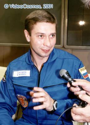 Konstantin Koziejew podczas konferencji