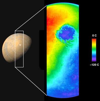 Pierwsze zdjęcie Marsa z sondy Mars Odyssey