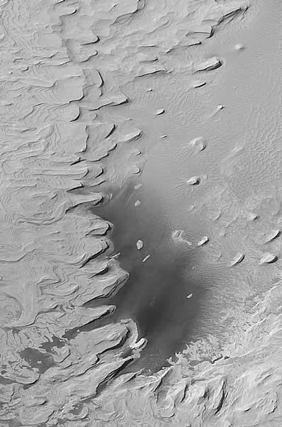 Struktury warstwowe na Marsie