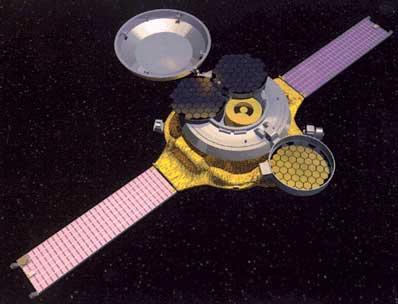 Artystyczna wizja sondy Genesis