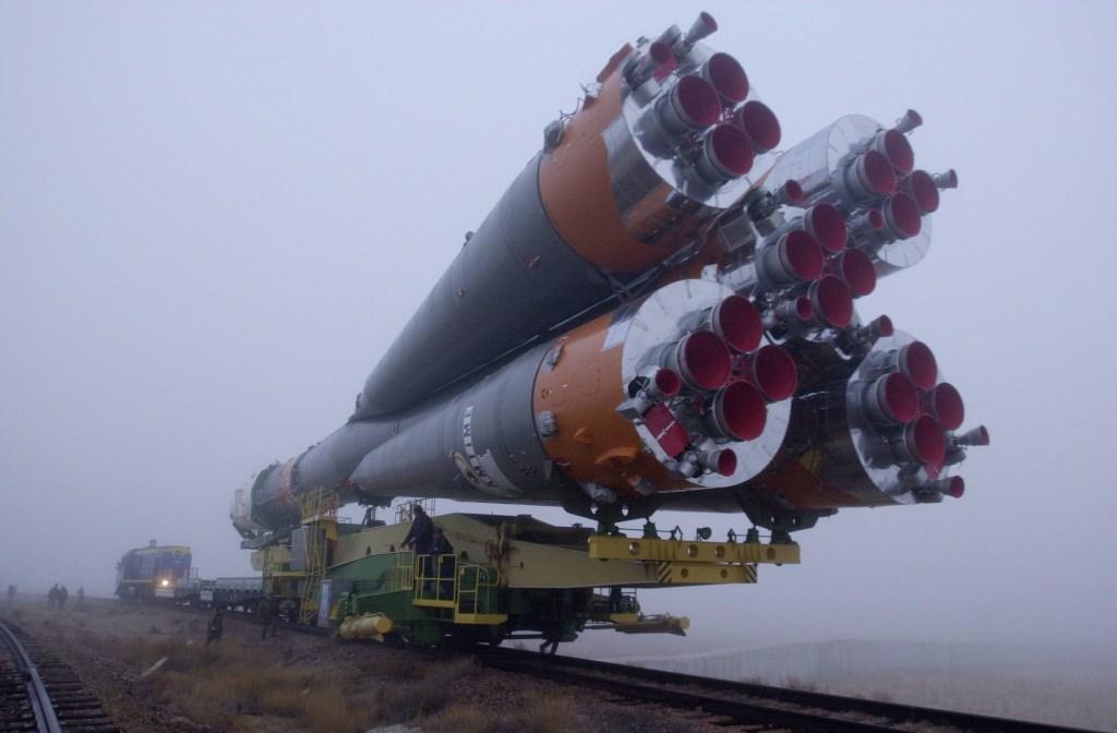 Podróż rakiety Sojuz na kosmodrom w Bajkonurze (2)