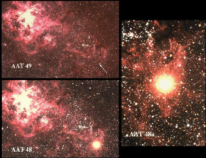 Supernowa 1987A w Wielkim Obłoku Magellana
