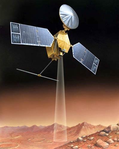 Wizja orbitera MRO