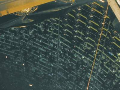 Zniszczone fotopowielacze detektora Super-K
