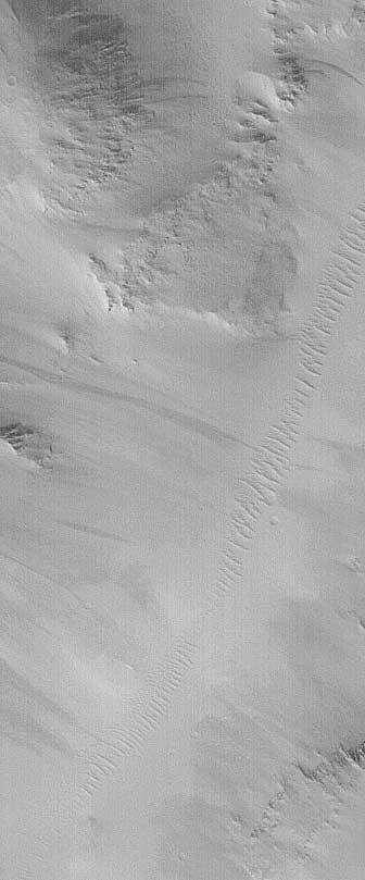 Stutysięczne zdjęcie z Mars Global Surveyor