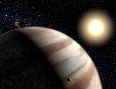 Gwiazda HD 209458 i jej planeta