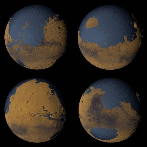Wilgotny Mars