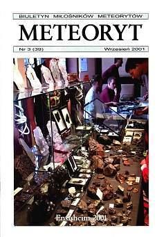 """Biuletyn Miłośników Meteorytów """"Meteoryt"""""""