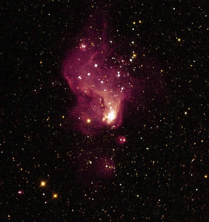 Hubble-V - obszar gwiazdotwórczy