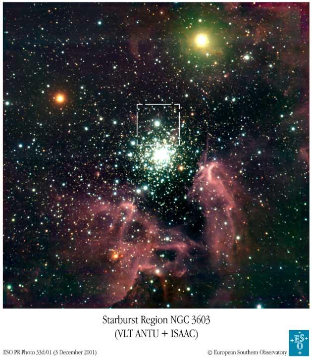 Gromada kulista NGC 3603