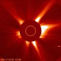 Merkury przechodzi obok Słońca