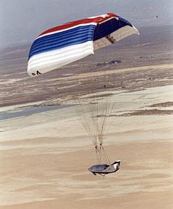 X-38 na spadochronie