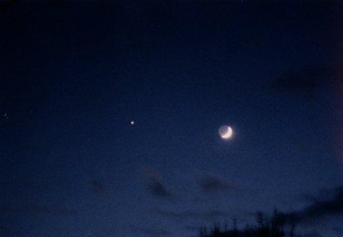 Księżyc i Jowisz