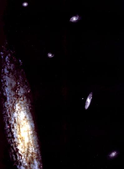 Galaktyki zamrożone w czasie