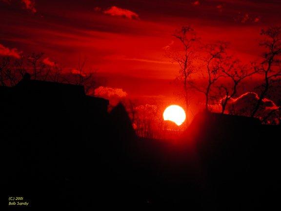 Zaćmienie Słońca 14.12.2001 (2)