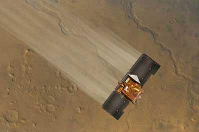 Hamowanie w atmosferze Marsa
