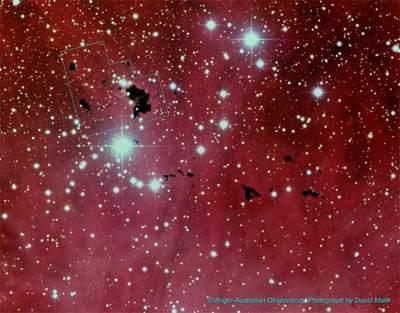 Mgławica emisyjna IC 2944
