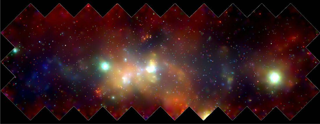 Centrum Drogi Mlecznej okiem Chandry