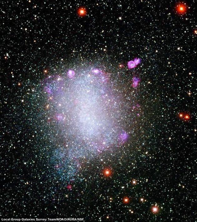 Galaktyka NGC 6822