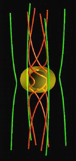 Trójwymiarowy model czarnej dziury