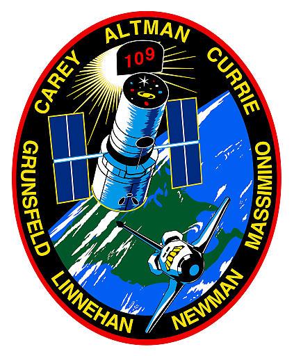 Logo misji STS-109