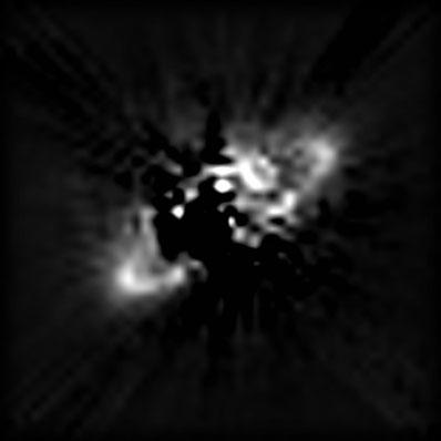 Pyłowy pierścień wokół gwiazdy HR 2796A