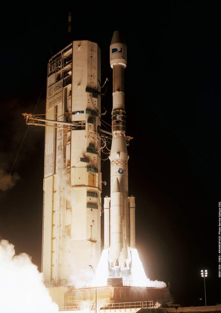 Start Ariane 4