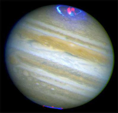 Ultrafioletowe i rentgenowskie zorze na Jowiszu